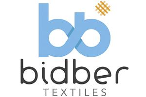 logotipo de textiles bidber