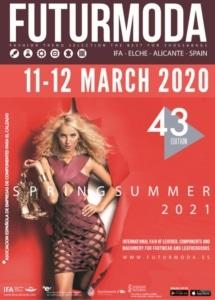 Cartel FUTURMODA 43 edición de Marzo 2020