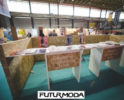 stands de prensa en Futurmoda